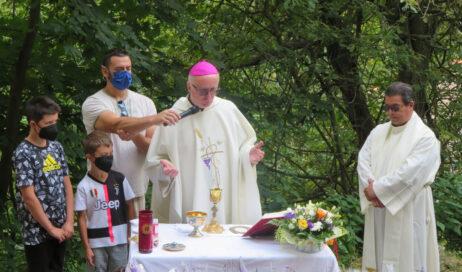 [photogallery]. Il vescovo Derio al Puy per la festa di Sant'Anna