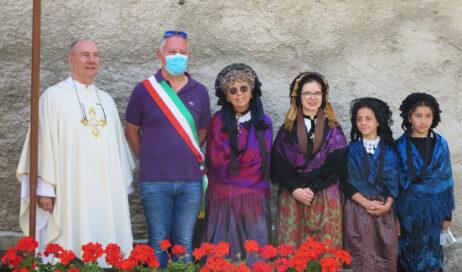 [photogallery]. La festa patronale di Santa Maria Maddalena al Laux