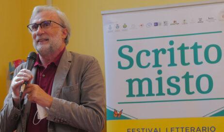 [photogallery]. Giorgio Merlo a Scritto Misto con il suo libro su Franco Marini