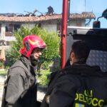 Pinerolo. Incendio in Via Asiago