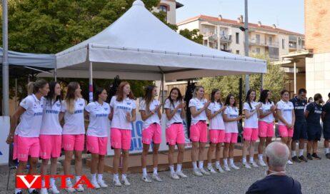 [photogallery]. Presentata la Pallavolo Pinerolo per la A2 femminile