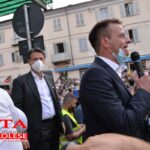 [photogallery]. Giuseppe Conte a Pinerolo per sostenere i 5Stelle