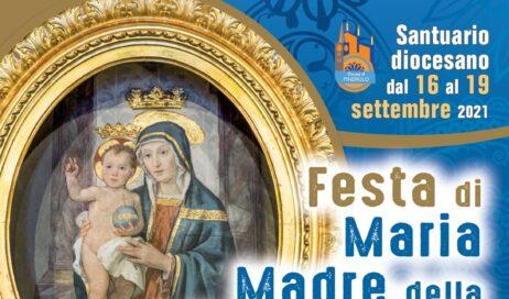 Santuario diocesano. Dal 16 al 19 settembre la Festa di Maria Madre della Divina Grazia e Regina della pace