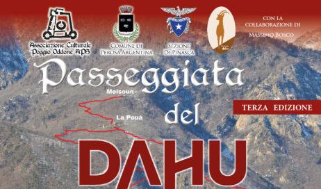 Perosa Argentina: la passeggiata del Dahu va a casa di Fernandel