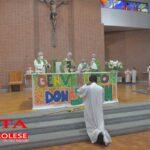 [Photogallery]. L'ingresso di don John nella parrocchia del Murialdo