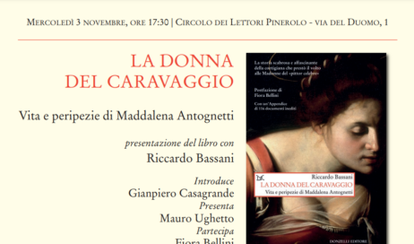 """A Pinerolo si presenta """"La donna del Caravaggio"""""""