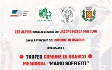 """Osasco: Jacopo Mosca invita i ciclisti """"giovanissimi"""" al Memorial Soffietti"""